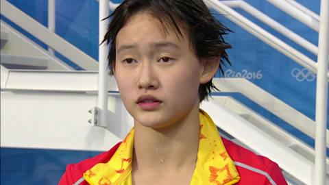 A medalhista de ouro de 15 anos