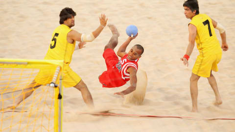 Полуфинал 2, мужчины | Пляжный чемпионат Европы - Старе-Яблонки