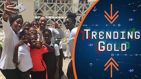 Trending Gold: 나이지리아 여자 봅슬레이팀 무대 뒤 모습