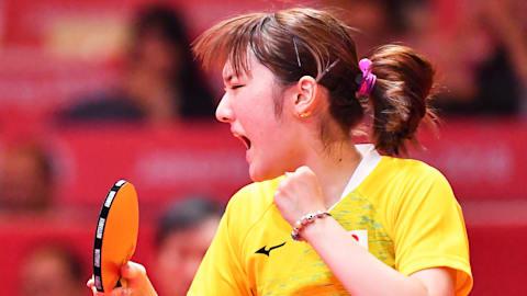 加藤美優が世界1位の中国選手を破る大金星で準決勝へ 卓球T2ダイヤモンドリーグ3日目