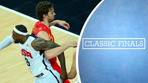 Финалы: мужской баскетбол 2012