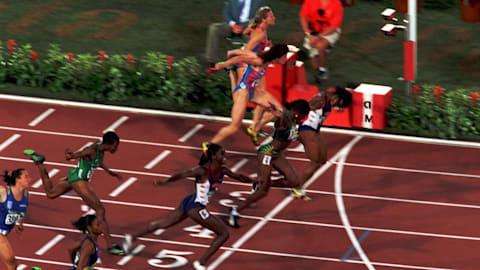 ディバース - アトランタ1996女子100mで金メダル