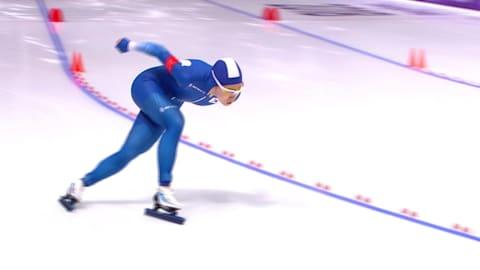 Damen 500m - Eisschnelllauf | PyeongChang Wiederholung