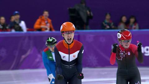 1000 м, финалы, женщины - шорт-трек | Пхенчхан-2018