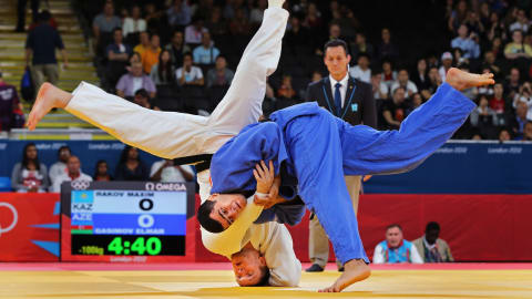 The beauty of Men's Judo