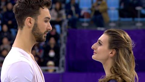 Papadakis und Cizeron (FRA) - Silbermedaille | Kür Eistanz