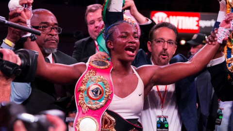 Double Olympic champ Claressa Shields unifies world boxing titles