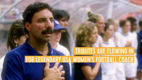 Tributes paid to legendary US Women's football coach