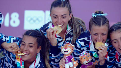 Лучшие моменты юношеских Олимпийских игр #14