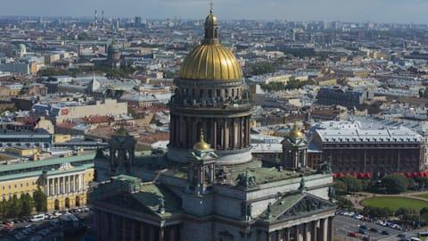 Russie et Gants: une carte postale de la boxe de St Pétersbourg