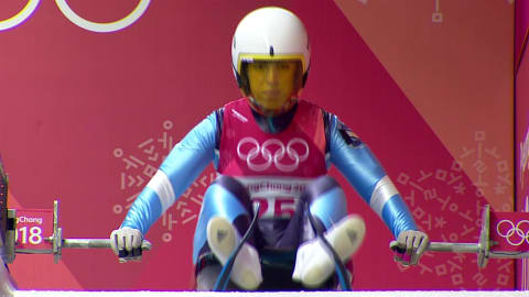 Verónica Ravenna makes her Olympic debut in Luge