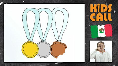 De que sabor e qual desenho você gostaria de ter nas suas medalhas?