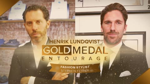 To suit up an Ice Hockey superstar: Henrik Lundqvist ft. Stylist Stephen F