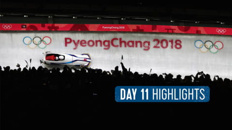 Tag 11 Highlights | Pyeongchang 2018