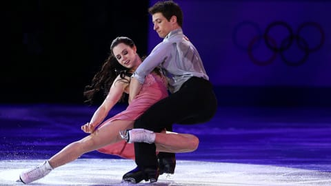 Tessa Virtue and Scott Moir's emotional skate to Rihanna's 'Stay' | Music Mondays