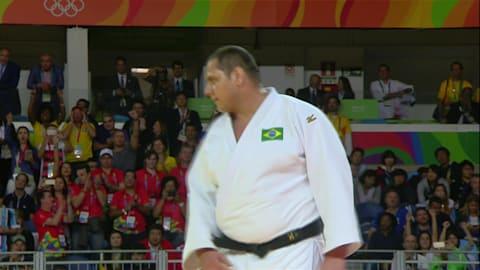 Judo @ Rio 2016 - Uomini oltre 100Kg Finale Bronzo 1