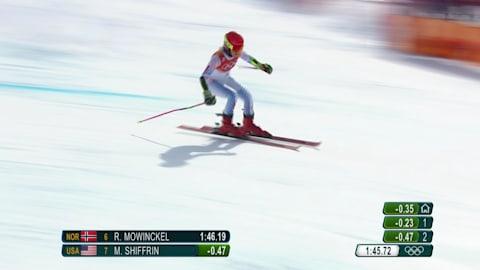 شيفرين تحصد ذهبية التعرج العملاق | التزلج الألبي