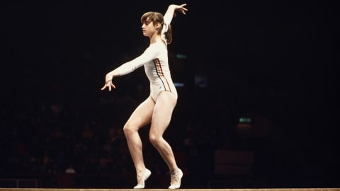 Comaneci makes perfect 10