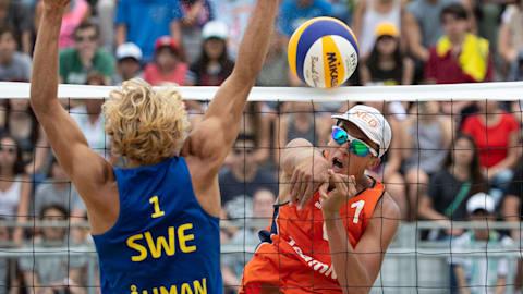 Финал, мужчины - Пляжный волейбол | ЮОИ-2018 в Буэнос-Айресе