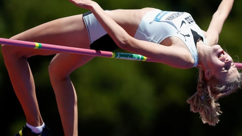 سباعي: 100م حواجز ووثب عالي | ألعاب القوى - Summer Universiade - نابولي
