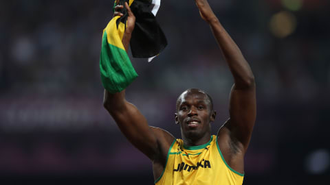 Five times Usain Bolt reigned supreme on the track