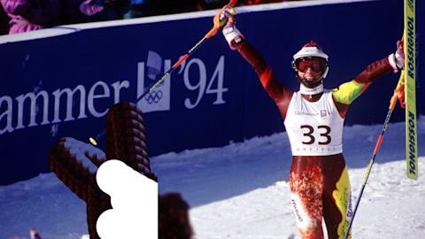 كورين تُبهر وتفوز ببرونزية التزلج المتعرج