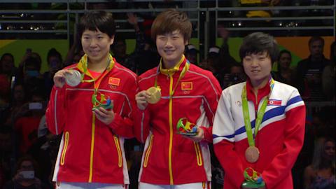 Tischtennis: Damen Goldmedaillenspiel | Rio 2016 Wiederholung