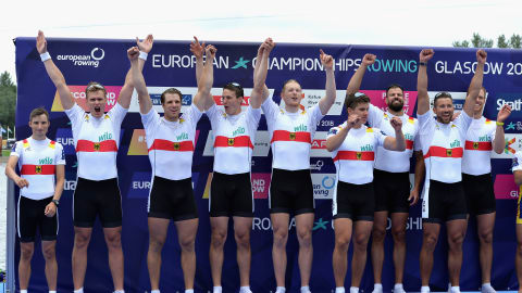German eight dominate European Rowing Championships