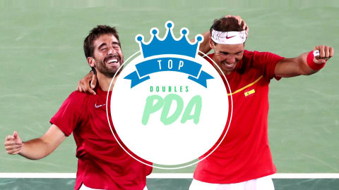 Top doubles partners PDA