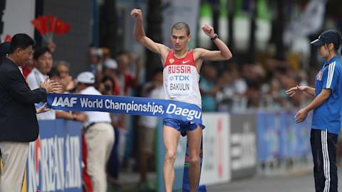 世界陸上金のロシア競歩選手、2度目のドーピング違反で8年間の出場停止処分