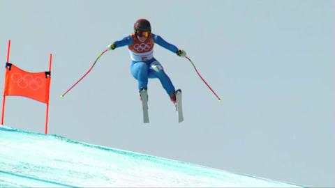 女子滑降 - アルペンスキー | 平昌2018ハイライト