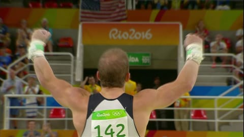 Hambuechen wins Horizontal Bar gold
