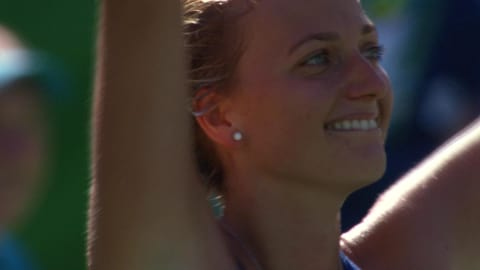 Kvitova wins Tennis Singles bronze