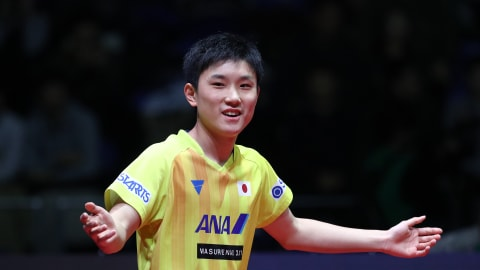 Harimoto's historic triumph in Korea