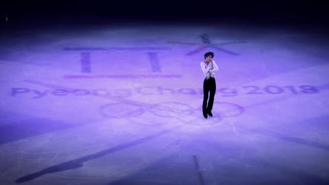 Hanyu's gala tribute - Figure Skating | PyeongChang 2018 Replays