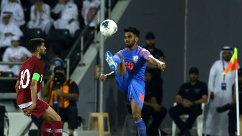 India's Brandon Fernandes braced for tough World Cup qualifiers