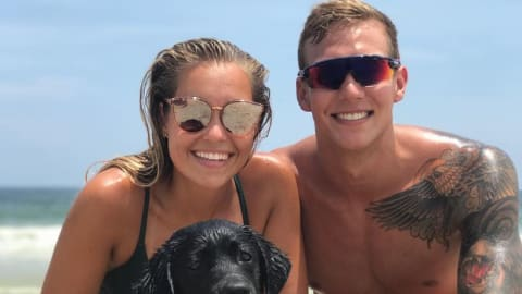 Even Caeleb Dressel's dog Jane swims better than most of us