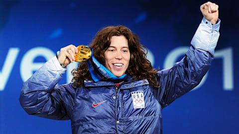 アメリカのホワイトが2010年大会のハーフパイプで金メダル