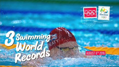 Postcards from Rio - Day 2: 3 swimming world records