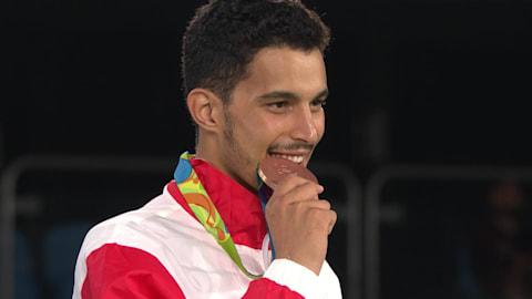 Oueslati clinches taekwondo bronze in Rio