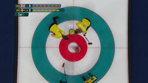 GBR v SWE (Round Robin) - Women's Curling | PyeongChang 2018 Replays