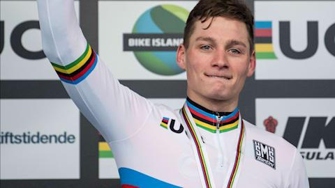 马蒂厄·凡·德尔·波尔:自行车三项全能巨星有远大目标