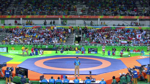Wrestling: Men's Freestyle 57kg & 74kg | Rio 2016 Replays
