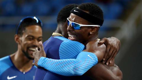 Die US-Männer holen Staffel-Gold in Rio 2016