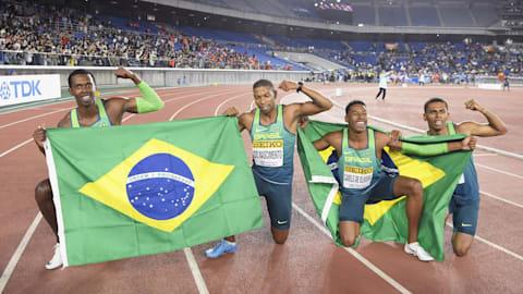 Brazil stun USA in 4x100m at 2019 IAAF World Relays