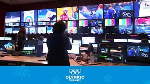 Diffusion de PyeongChang 2018 - Dans les Coulisses