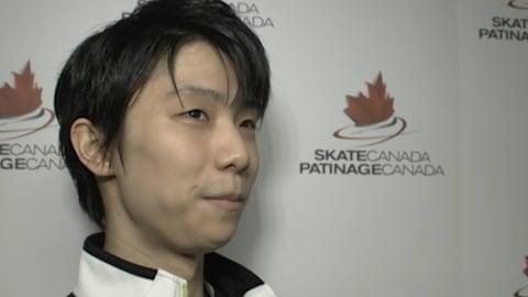 INTERVIEW: Yuzuru Hanyu en tête après le programme court