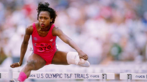 Seoul 1988 - Devers is eliminated in the 100m hurdles semifinals