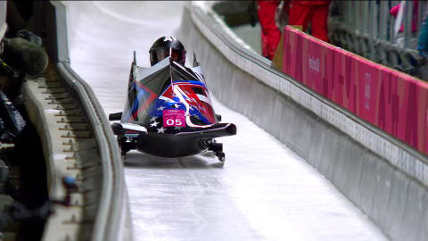 Heat 2 - Two-Woman Bobsleigh | PyeongChang 2018 Replays