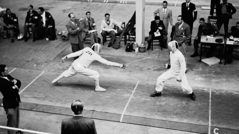 From temples in Egypt to video technology - fencing is an Olympic original